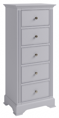 Petworth 5 Drawer Narrow Chest